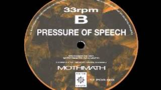 Pressure Of Speech - Mothmath - The Higher Intelligence Agency Remix Ambient Chillout