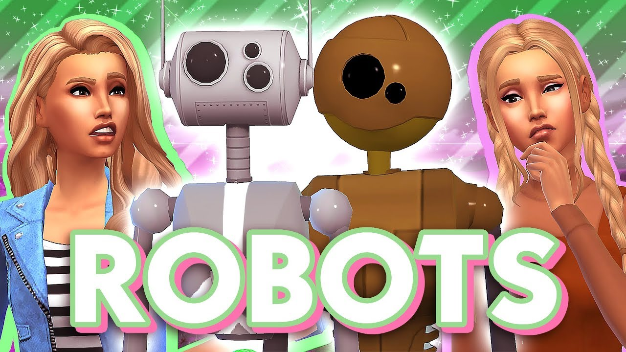ROBOTS IN THE SIMS!! ⚙    The Sims 4: Mod Overview
