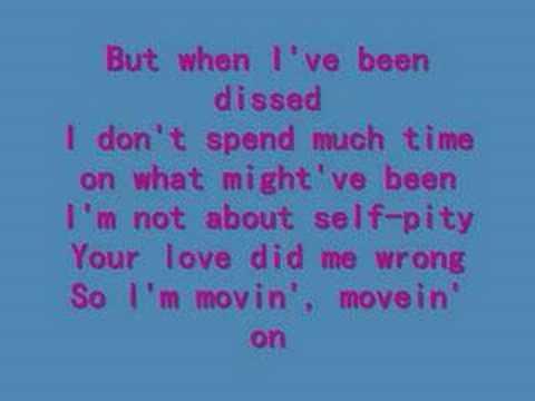 celine dion - misled - lyrics