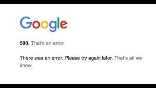 Fix Google Adsense login error 500