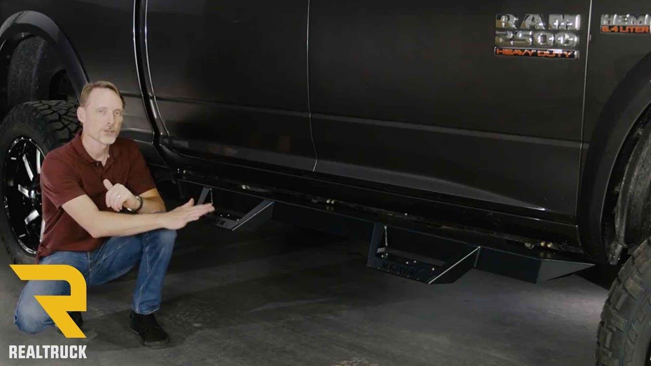 Magnum Rt Steps >> ICI Black Magnum RT Steps Fast Facts on a 2017 Dodge Ram ...