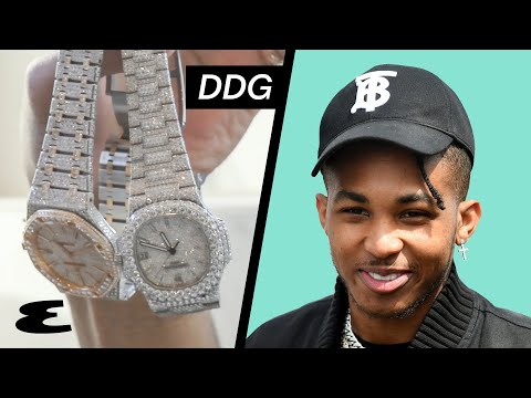 Rapper DDG Shows His Insane Watch Collection | Curated | Esquire