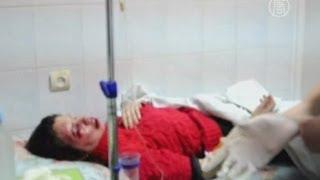 Активистку «Евромайдана» жестоко избили (новости)(http://www.ntdtv.ru Активистку «Евромайдана» жестоко избили. В Киеве жестоко избили журналистку Татьяну Черновол,..., 2013-12-25T15:52:29.000Z)