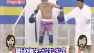 Японское шоу. Прикол с кипятком. Japanese fun boiling water.