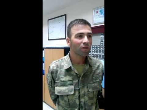 15 Temmuz  Darbe girişimi ifade veren asker