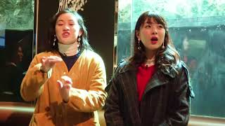 アンジュルム中西香菜、佐々木莉佳子が𝘽𝙡𝙪𝙚 𝙀𝙖𝙧𝙩𝙝 𝙋𝙧𝙤𝙟𝙚𝙘𝙩と𝙈𝙮行動宣言...