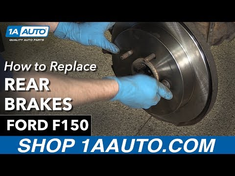 How To Replace Rear Brakes 97-03 Ford F150