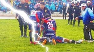 ►Lightning Strikes In Football