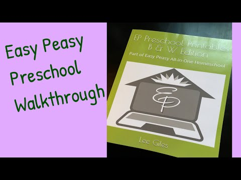 Easy Peasy Preschool Printables| Walkthrough