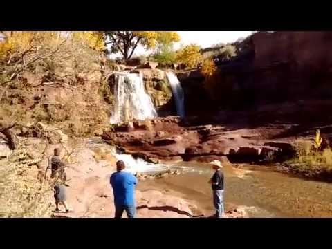 Bridal Falls, Tularosa, NM.