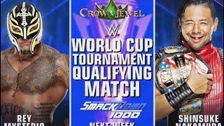 WWE Smackdown 1000 match result: Rey mysterio vs. Shinsuke nakamura