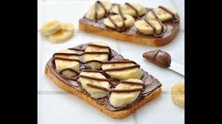 Тосты Бананы в шоколаде. Шоколадно банановый десерт за пять минут. Как приготовить бананы в шоколаде