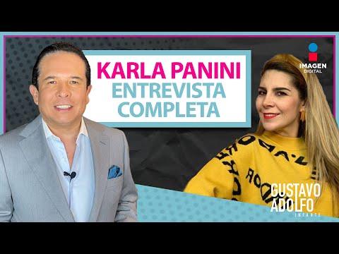 Entrevista completa Karla Panini con Gustavo Adolfo Infante