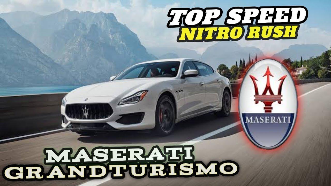 Maserati Quattroporte Drift Donut