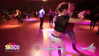 Gleb Chernichuk and Valeriya Lebedeva Salsa Dancing at Rostov For Fun Fest 2018, Sunday 04.11.2018