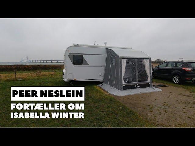 Isabellla Winter - Peer Neslein stiller teltet op og fortæller om det