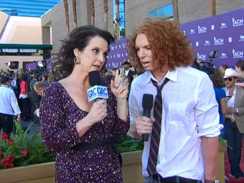 Carrot Top Red Carpet Interview ACM Awards 2012