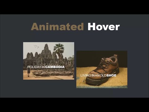 Animated Image On Hover - CSS & HTML Only
