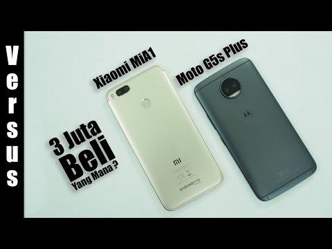 Versus : Xiaomi MiA1 Vs Motorola Moto G5s Plus