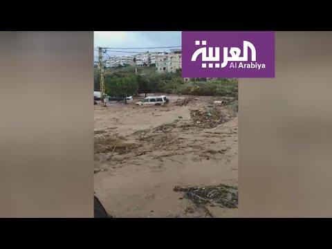 لبنان.. أمطار غزيرة تتسبب بفيضانات وشلل في الطرقات  - نشر قبل 26 دقيقة