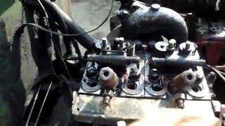 Трактор Т-25-ремонт мотораД-21. Reparatur Motor D-21