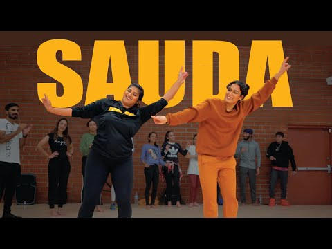 SAUDA KHARA KHARA | BHANGRA DANCE | Shivani Bhagwan And Chaya Kumar | Diljit Dosanjh | Good Newwz