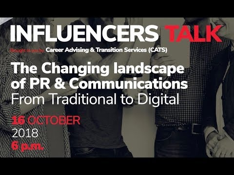 Influencers Talk   The Changing Landscape Of PR & Communications