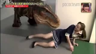 Trò đùa Nhật Bản - Gặp Khủng Long thật