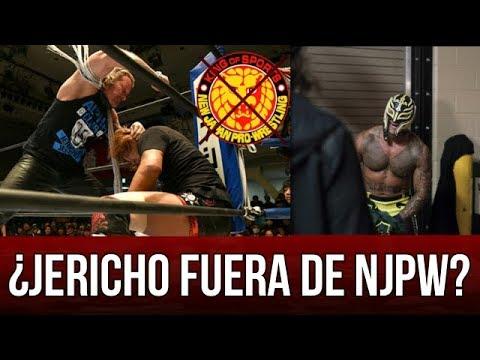 WWE NOTICIAS    CHRIS JERICHO insinúa estar FUERA de NJPW. ¿REY MYSTERIO lesionado?