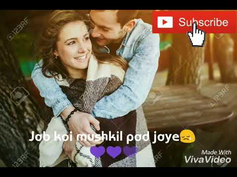 Tum Dena Sath mera video + lyrics song || Love whatsapp status song ||