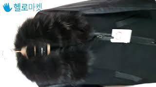 정품KASIBADY리얼폭스 천연무스탕 양가죽코트 여66…