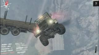 Игры баги лаги приколы SpinTires полет в небе