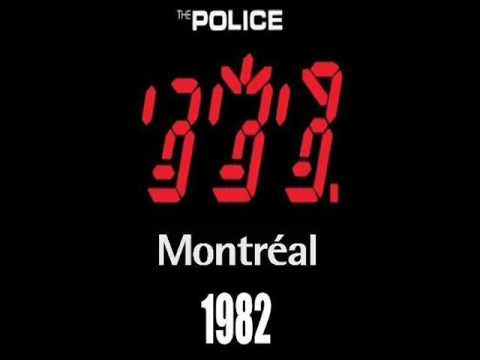 "THE POLICE - Montreal 11-08-1982 ""McGill Stadium"" Canada (FULL AUDIO SHOW)"