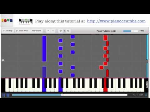 Jason Mraz - 93 Million Miles (Love Is A Four Letter Word Album) - Piano Tutorial