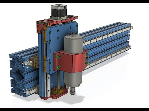 Часть 4. Создание оси Z. Проект ЧПУ фрезера  с нуля с рабочим полем 600 х 900 мм