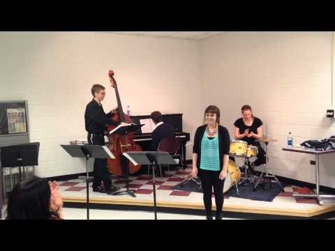 Emily Buckley and the Vocal Jazz Group at Crane School of Music, SUNY Potsdam