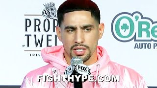 """KICK YOUR ASS"" - DANNY GARCIA PUTS SPENCE ON ""BEEN HERE BEFORE"" NOTICE; ANGEL GARCIA DOUBLES DOWN"