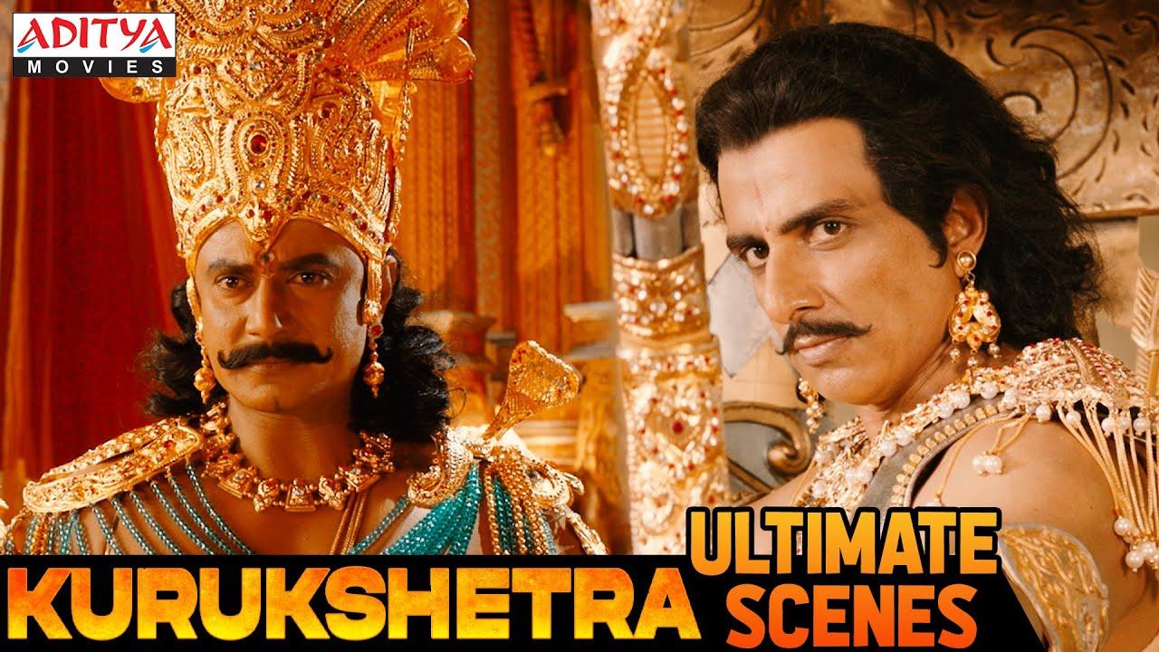 """""""Abhimanyu and Uttara"""" Ultimate Scenes From """"Kurukshetra""""   Aditya Movies"""