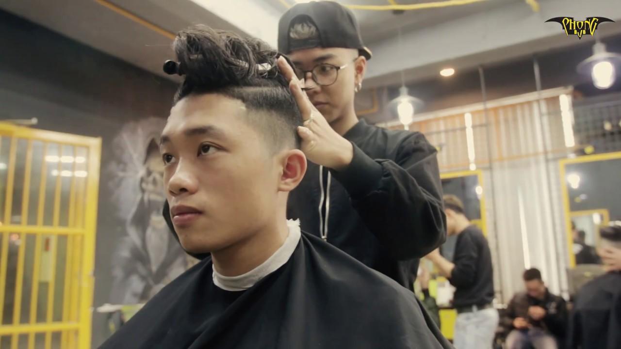 Tóc nam đẹp 2018 | Kiểu tóc top knot | Tóc búi cho nam giới | Phongbvb