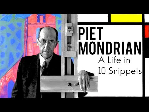 Piet  Mondrian: A Life in 10 Snippets