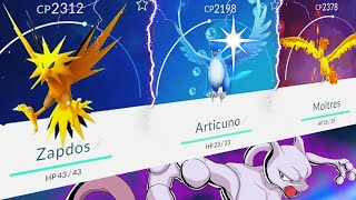 POKEMON GO | MEWTWO DITTO + ARTICUNO All Legendary Pokemon Battle!