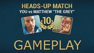 "Poker World - Heads-up Match: Matthew ""The Grey""   PC Indie Gameplay"