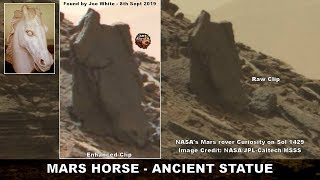 The MARS HORSE - Incredible Ancient Statue Found - ArtAlienTV