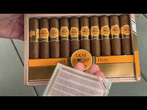 Download Quai d'Orsay No. 54 Cuban Cigar Review/Unboxing - #23