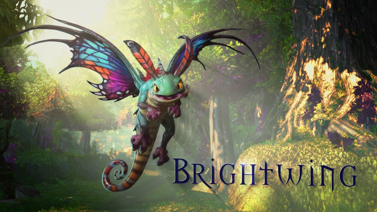 Heroes Of The Storm Brightwing Trailer  YouTube