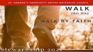 St Andrew's Community UMC Livestream Contemporary Service 10:50am, Oct. 17 2021
