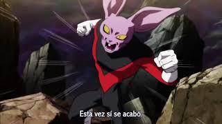 goku vuelve a usar el ssj dios rojo y salva a hit!!