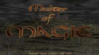 Master of Magic gameplay (PC Game, 1994)