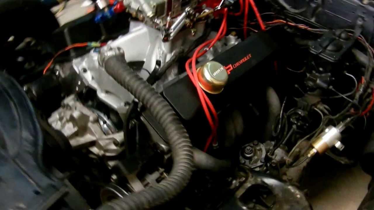 Con carburador nuevo