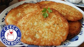 Potato Latkes Recipe - Bramborák - Czech Cookbook